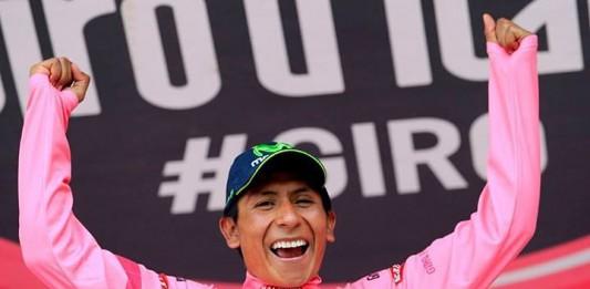 Nairo Quintana vítěz 16. a 19. etapy a Giro 2014