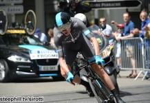 Christopher Froome vítěz 1. etapy Critérium du Dauphiné 2014