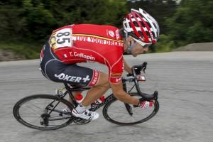 Tony Gallopin žlutý na Tour de France 2014