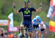 Alejandro Valverde vítěz Klasika San Sebastián