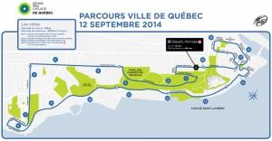 Grand Prix Cycliste de Québec trasa