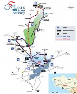 Grand Prix Ouest France - Plouay mapa