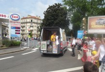 Prodej suvenýrů Tour de France