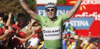 John Degenkolb vítězí v 12. etapě na Vuelta 2014