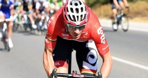 Vítěz 19. etapy na Vuelta 2014 Adam Hansen