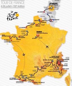 Tour de France 2015 etapy