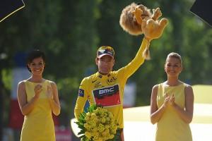 Cadel Evans vítěz Tour de France