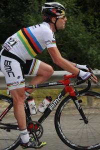 Cadel Evans (BMC) mistr světa