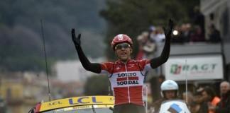 Vítěž 6. etapy Paříž - Nice Tony Gallopin