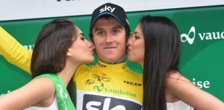 Geraint Thomas - první lídr Tour de Romandie 2015