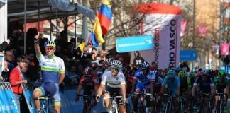Michael Matthews, vítěz 1. etapy Kolem Baskicka