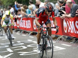 Philippe Gilbert útočí na vítězství v závodě