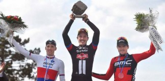 Podium na Paříž - Roubaix 2015