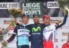 Stupně vítězů na Lutych - Bastogne - Lutych 2015