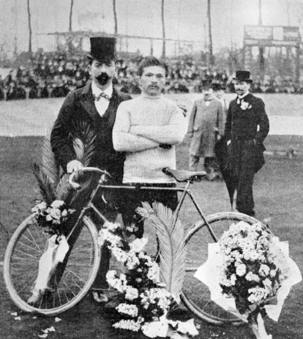 Vítěz dvou ročníků Roubaix a prvního ročníků LTDF Maurice Garin