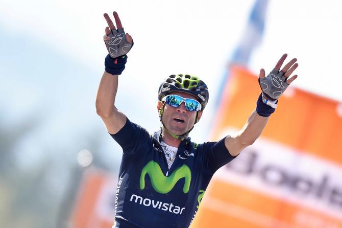Alejandro Valverde vítěz La Fleche Wallonne