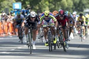 Cavendish vítězí v 1. etapě Kolem Kalifornie