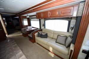 Fleetwood Excursion 39R - karavan Richie Porta uvnitř