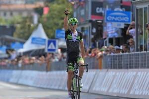 Vítěz 4. etapy Gira Davide Formolo