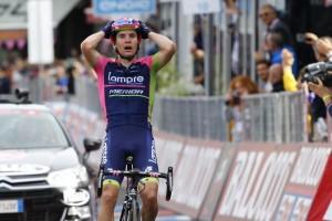 Vítěz 5. etapy Gira Jan Polanc