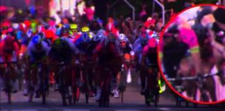 Danielle Colli z Nippo-Vini Fantini pád v 6. etapě Giro 2015