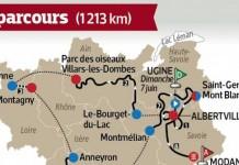 Trasa Critérium du Dauphiné 2015
