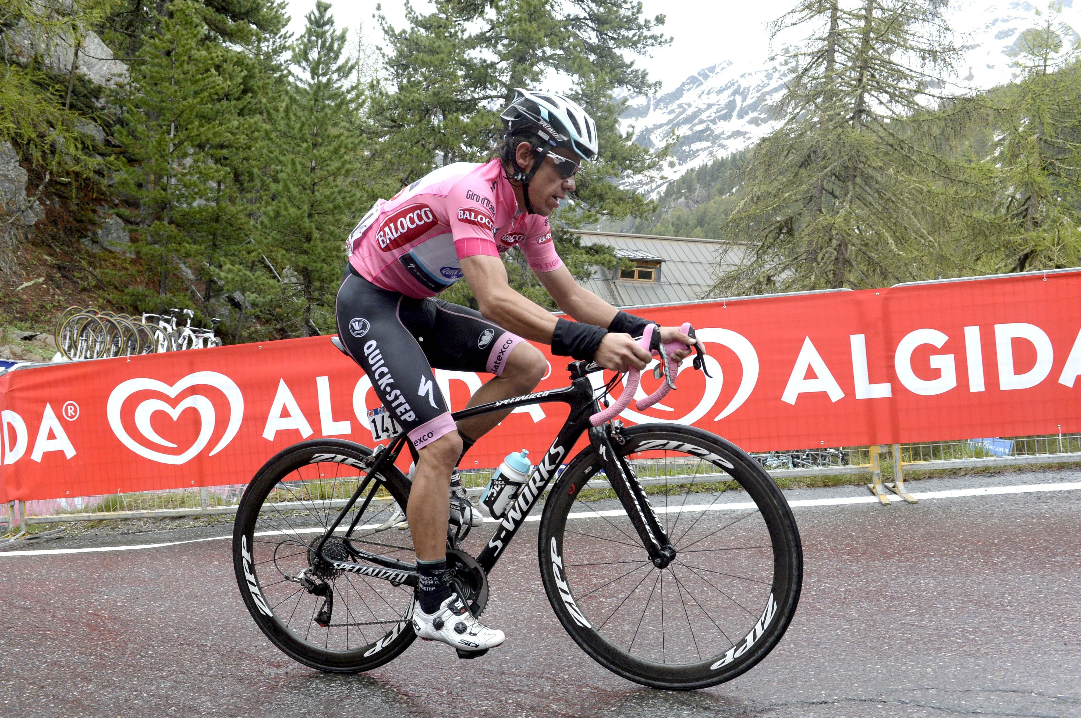 Rigoberto v kráľovskej 16. etape vlaňajšieho Gira