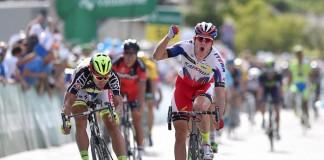 Alexander Kristoff v 7 etapě Kolem Švýcarska