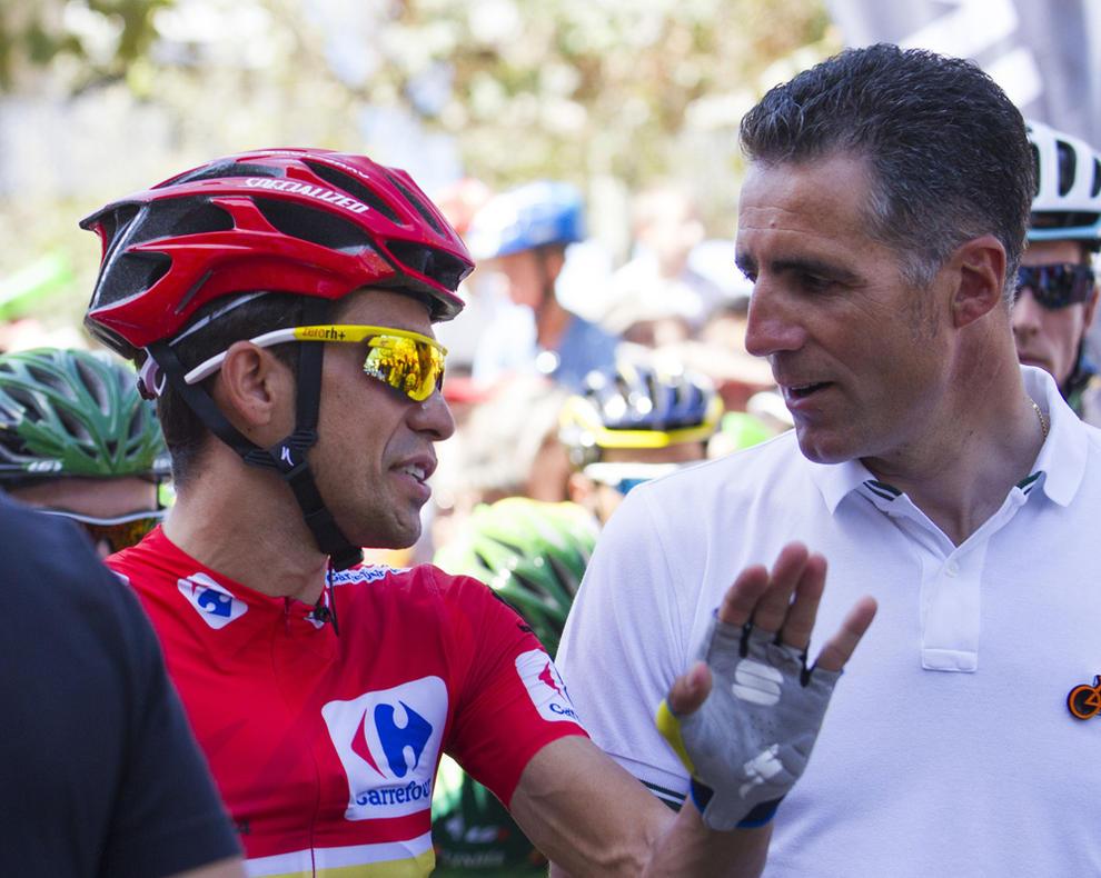 Contador a Indurain