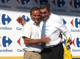 Dva nejúspěšnější muži Tour všech dob Hinault a Merckx