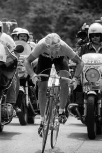 Fignon na trati závěrečné časovky ročníku 1989