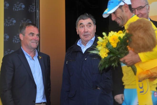 Hinault, Merckx a Nibali