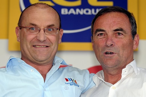 Laurent Fignon a Bernard Hinault