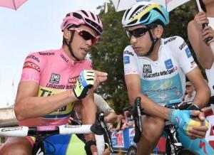 Contador a Aru, dvaja najlepší jazdci Gira 2015