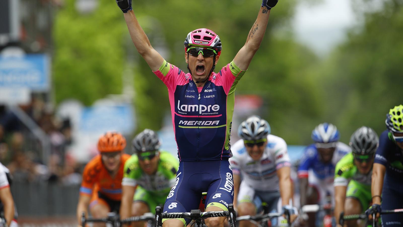 Diego Ulissi sa raduje z víťazstva v 7. etape
