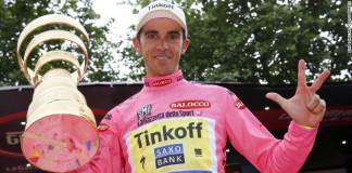 Alberto Contador vítěz Giro 2015