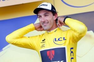 Švýcarský Spartakus se oblékl do žlutého dresu
