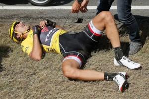 Žlutý muž Cancellar skončil nepříjemně na zemi