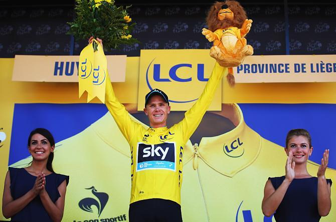 Chris Froome vítěz Tour de France 2015