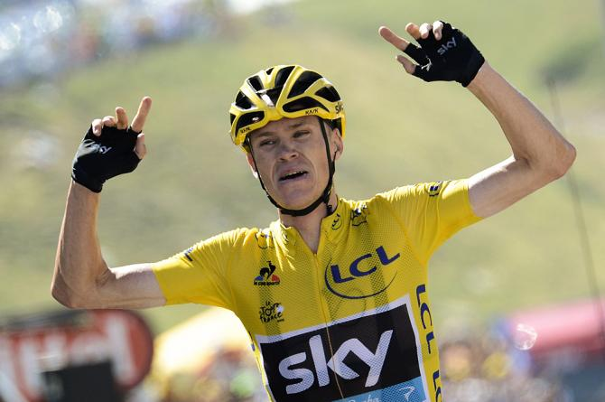 Chris Froome vyhrál 10. etapu na Tour de France