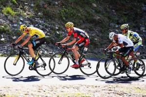 Froome, Garderen, Quintana a Contador
