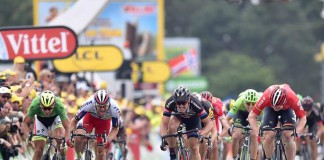 Hromadný sprint Tour de France