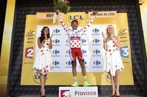 Joaquim Rodriguez se stal zároveň vedoucím mužem vrchařské soutěže