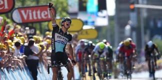 Zdeněk Štybar vítěz etapy Tour de France
