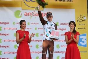 Francouzští pořadatelé shledali vítěze Romaina Bardeta nejaktivnějším jezdcem dne