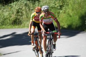 Jan Hirt se neúspěšně pokoušel vydržet tempo de la Parteho