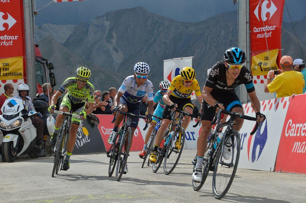 Alberto Contador, Chris Froome, Nairo Quintana, Richie Porte