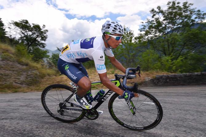 Nairo Quintana zúžil rozdíl na prvních dvou pozicích celkového pořadí