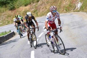 Zpočátku se zdálo, že Joaquim Rodriguez pojistí trikot nejlepšího vrchaře, nakonec o něj přišel