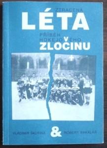 Přebal knihy Ztracená léta, příběh hokejového zločinu